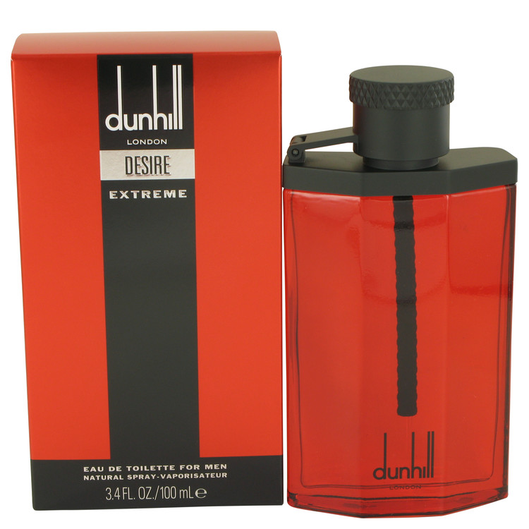 Desire Red Extreme by Alfred Dunhill for Men Eau De Toilette Spray 3.4 oz