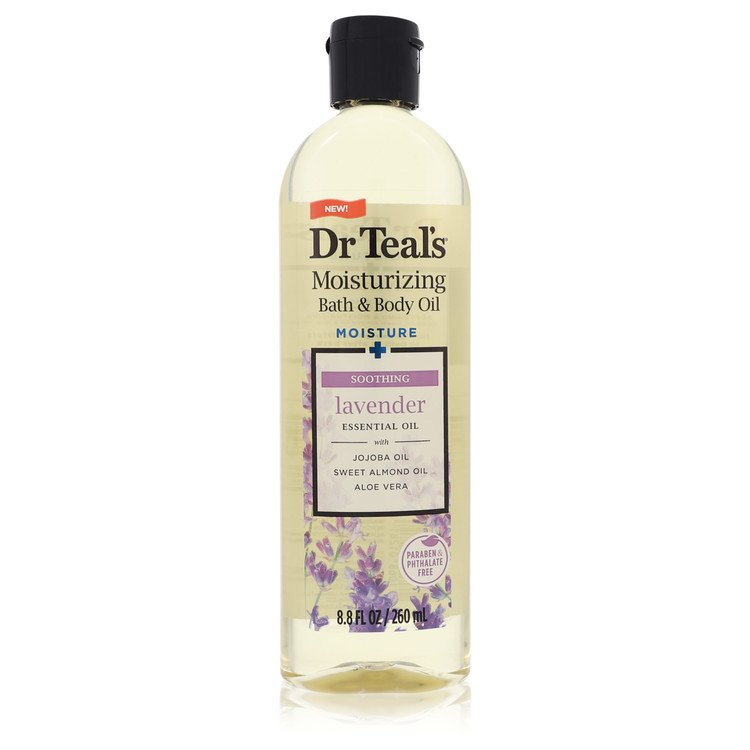 Dr Teal's Bath Oil Sooth & Sleep with Lavender by Dr Teal's for Women Pure Epsom Salt Body Oil Sooth & Sleep with Lavender 8.8 o