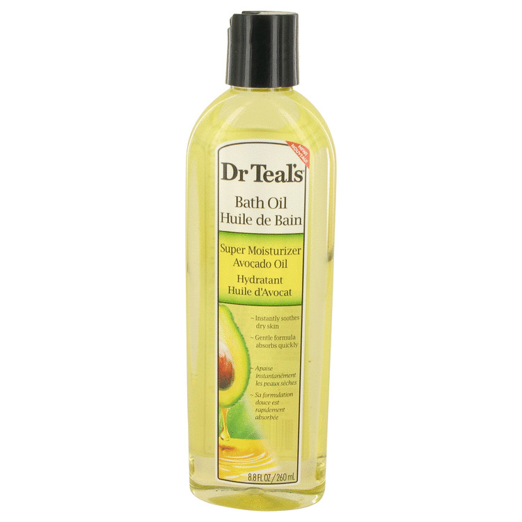 Dr Teal's Bath Oil Super Moisturizer Avocado Oil by Dr Teal's for Women Bath Oil Super Moisturizer Avocado Oil Instantly Soothes