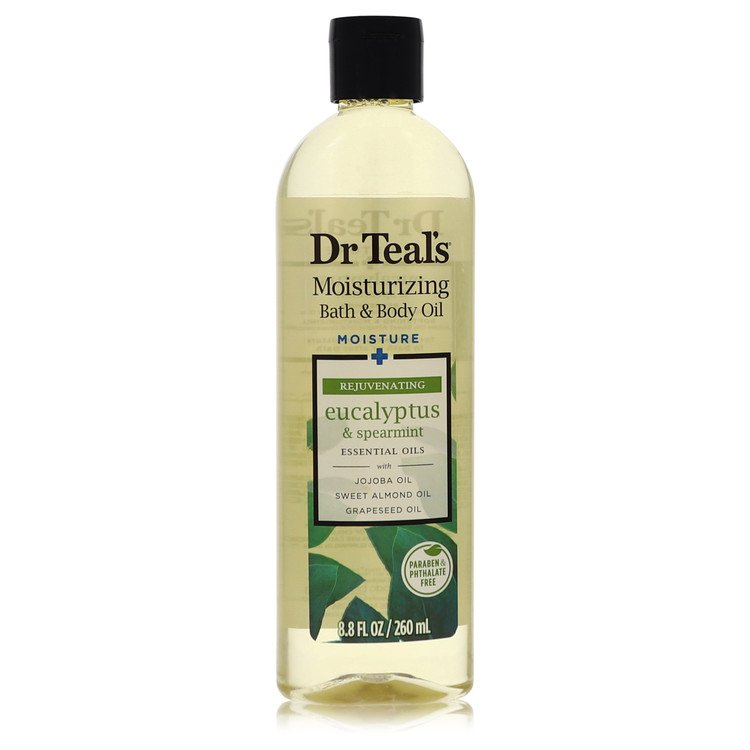 Dr Teal's Bath Additive Eucalyptus Oil by Dr Teal's for Women Pure Epson Salt Body Oil Relax & Relief with Eucalyptus & Spearmin