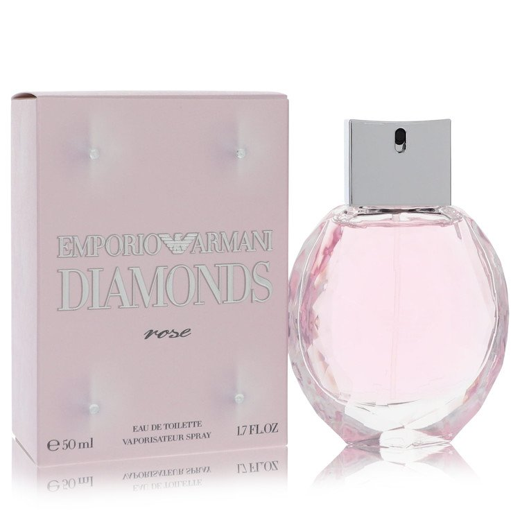 Emporio Armani Diamonds Rose by Giorgio Armani for Women Eau De Toilette Spray 1.7 oz