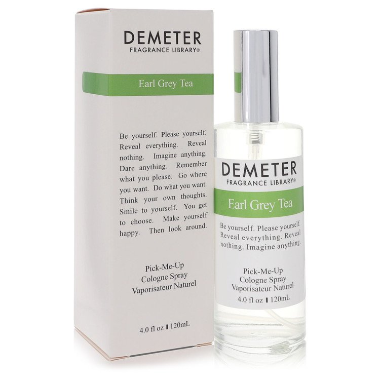 Demeter Cologne Spray, Earl Grey Tea, 4 Ounce