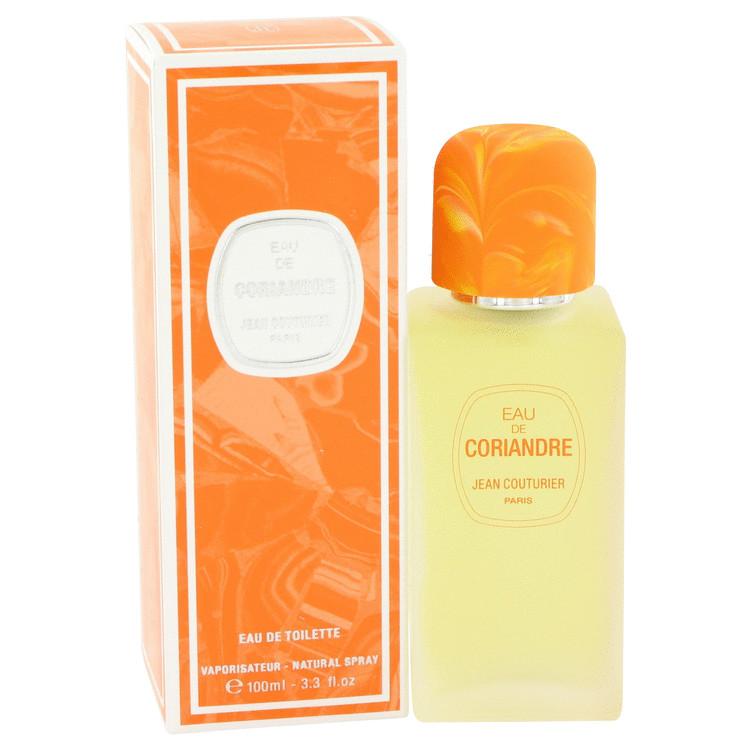Eau De Coriandre Perfume by Jean Couturier 3.3 oz EDT Spay for Women