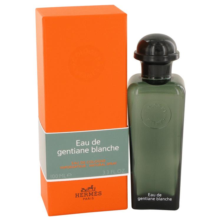 Eau De Gentiane Blanche by Hermes for Men Eau De Cologne Spray (Unisex) 3.3 oz