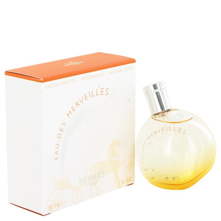Eau Des Merveilles by Hermes for Women Eau De Toilette Spray 1 oz