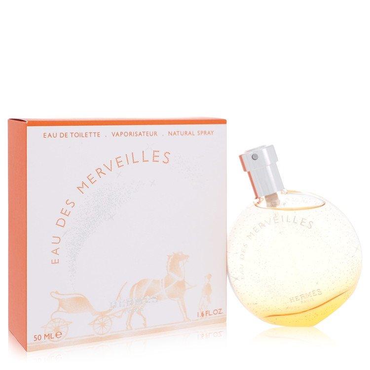 Eau Des Merveilles by Hermes for Women Eau De Toilette Spray 1.6 oz