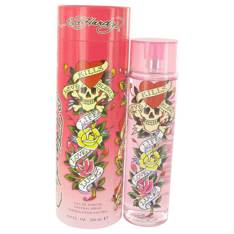 Ed Hardy by Christian Audigier for Women Eau De Parfum Spray 6.7 oz
