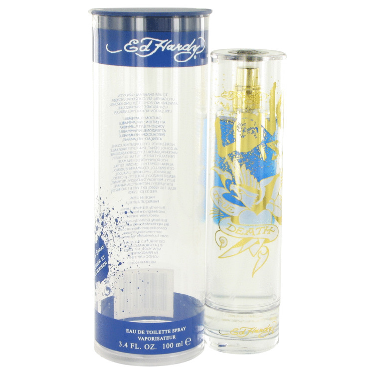 Ed Hardy Love Is Cologne by Christian Audigier 3.4 oz EDT Spay for Men