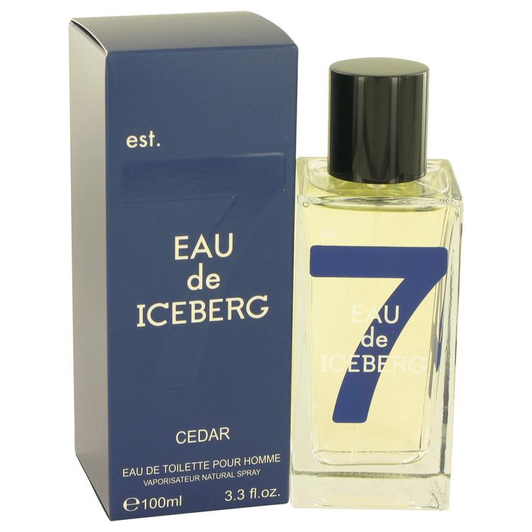 Eau De Iceberg Cedar by Iceberg for Men Eau De Toilette Spray 3.3 oz