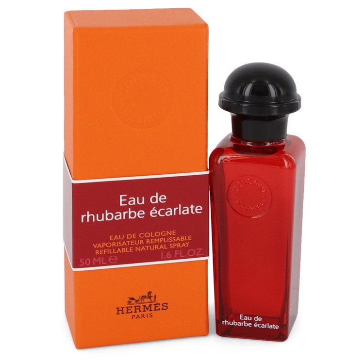 Eau De Rhubarbe Ecarlate by Hermes for Men Eau De Cologne Spray 1.6 oz