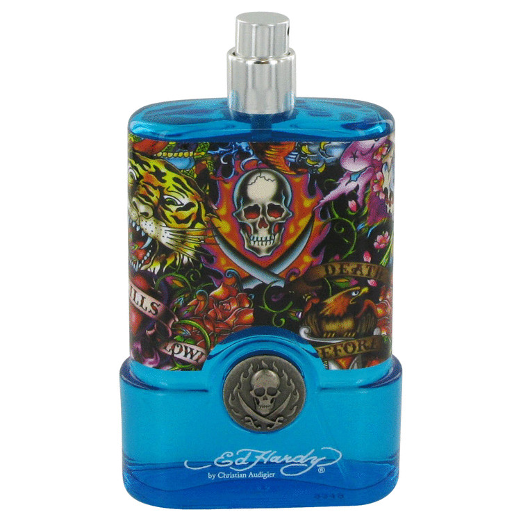 Ed Hardy Hearts & Daggers Cologne 3.4 oz EDT Spray(Tester) for Men