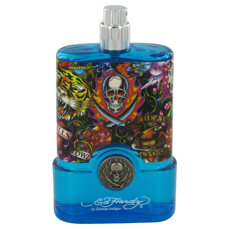 Ed Hardy Hearts & Daggers by Christian Audigier for Men Eau De Toilette Spray (Tester) 3.4 oz