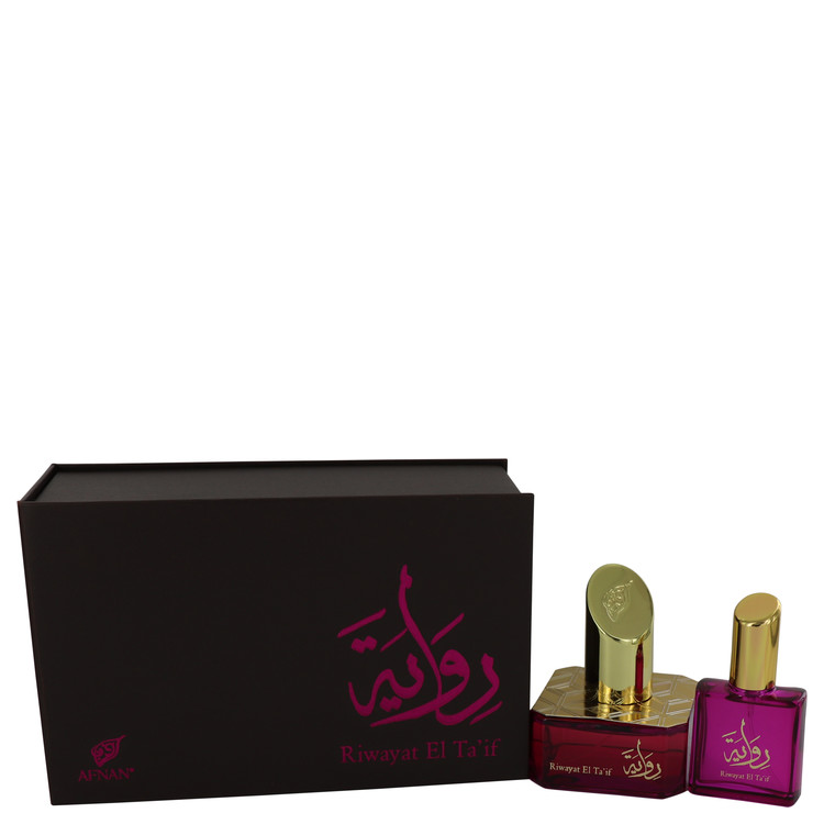 Riwayat El Ta'if by Afnan for Women Eau De Parfum Spray + Free .67 oz Travel EDP Spray 1.7 oz