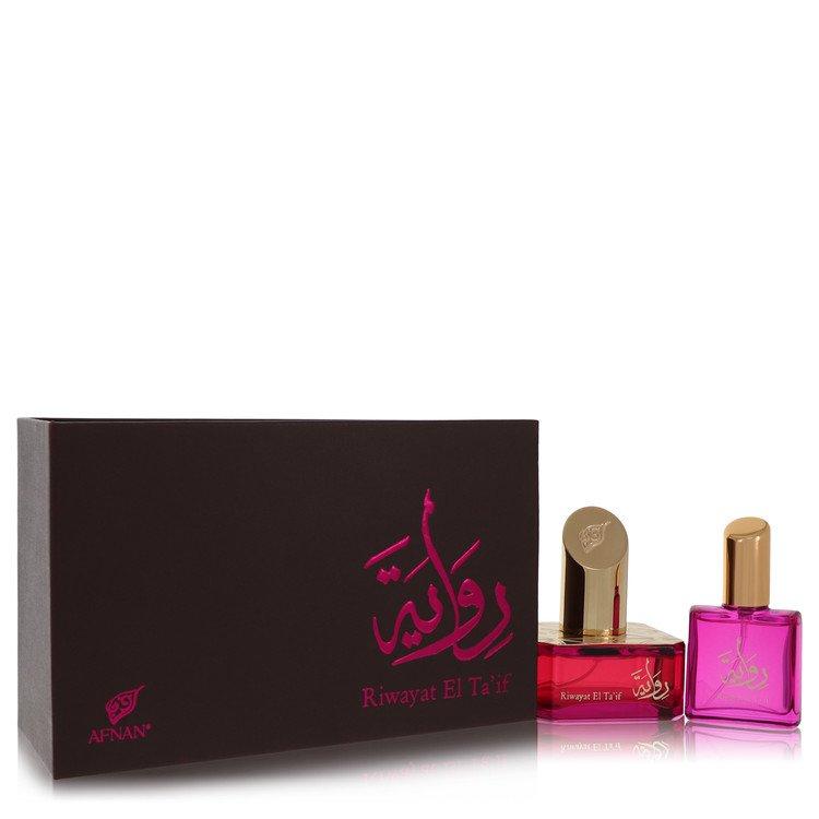 Riwayat El Ta'if by Afnan –  Eau De Parfum Spray + Free .67 oz Travel EDP Spray 1.7 oz 50 ml for Women