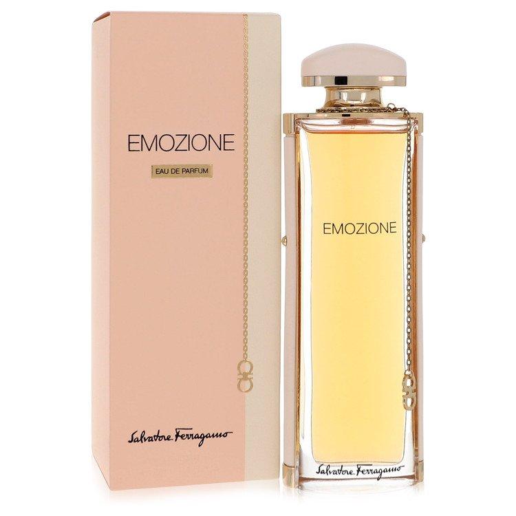 Emozione by Salvatore Ferragamo for Women Eau De Parfum Spray 3.1 oz
