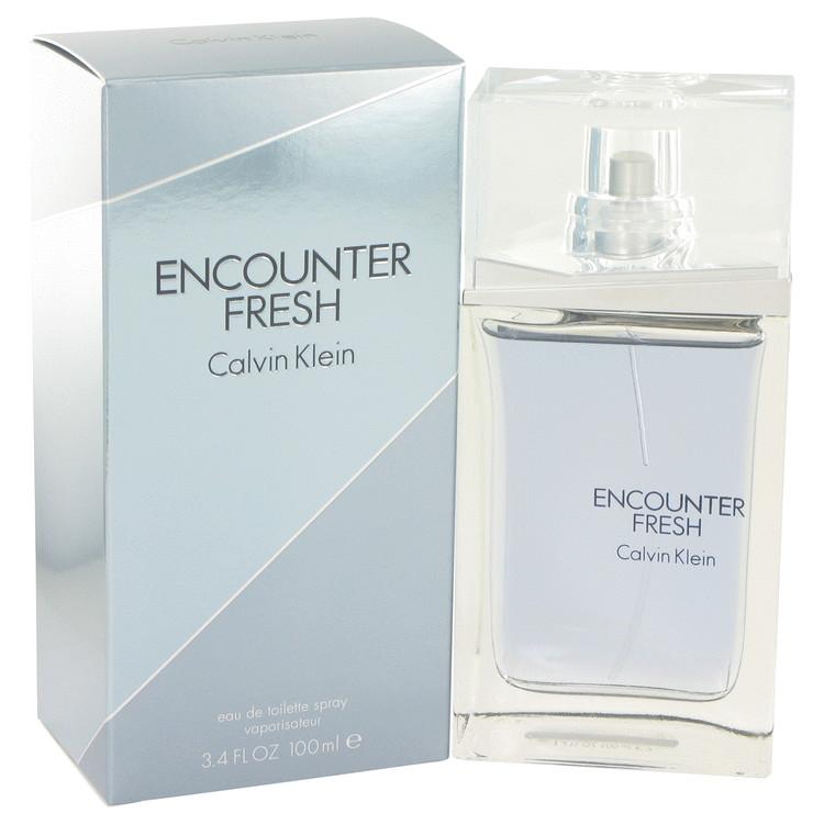 Encounter Fresh by Calvin Klein –  Eau De Toilette Spray 3.4 oz 100 ml for Men