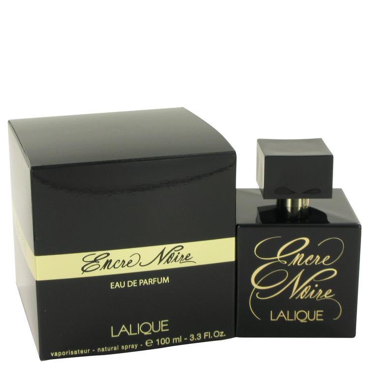 Encre Noire by Lalique for Women Eau De Parfum Spray 3.4 oz