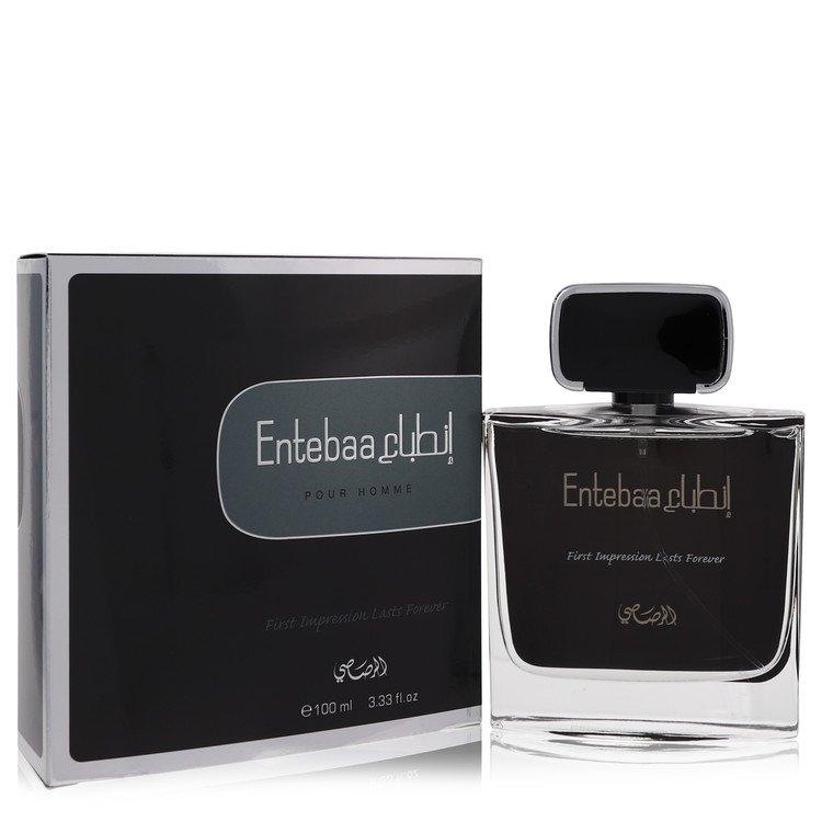 Entebaa by Rasasi for Men Eau De Parfum Spray 3.33 oz