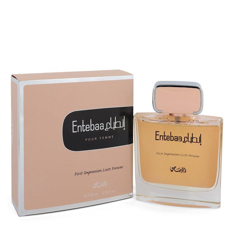 Entebaa by Rasasi –  Eau De Parfum Spray 3.33 oz 98 ml for Women