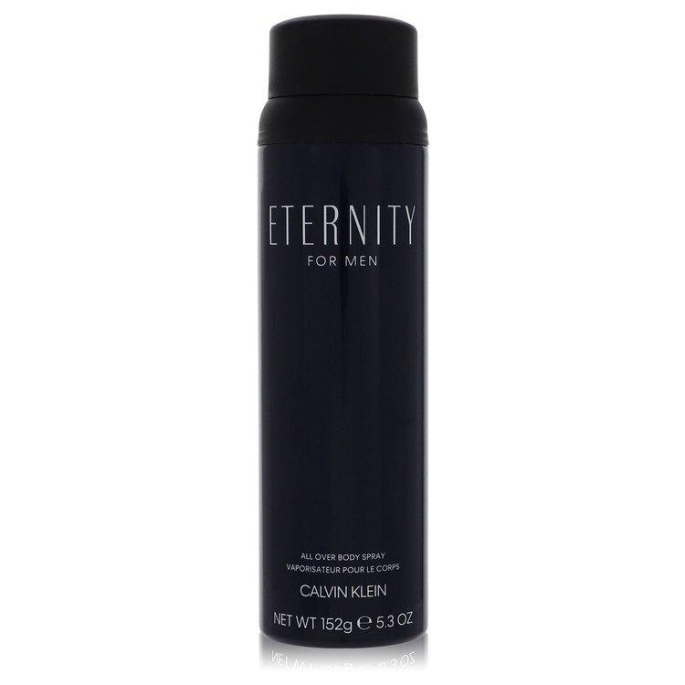 Eternity Cologne by Calvin Klein 5.4 oz Body Spray for Men