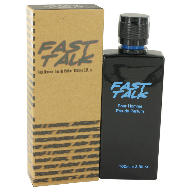 Fast Talk by Erica Taylor for Men Eau De Parfum Spray 3.4 oz
