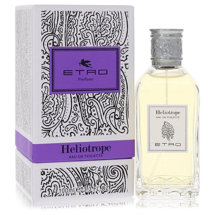 Etro Heliotrope by Etro –  Eau De Toilette Spray (Unisex) 3.4 oz 100 ml