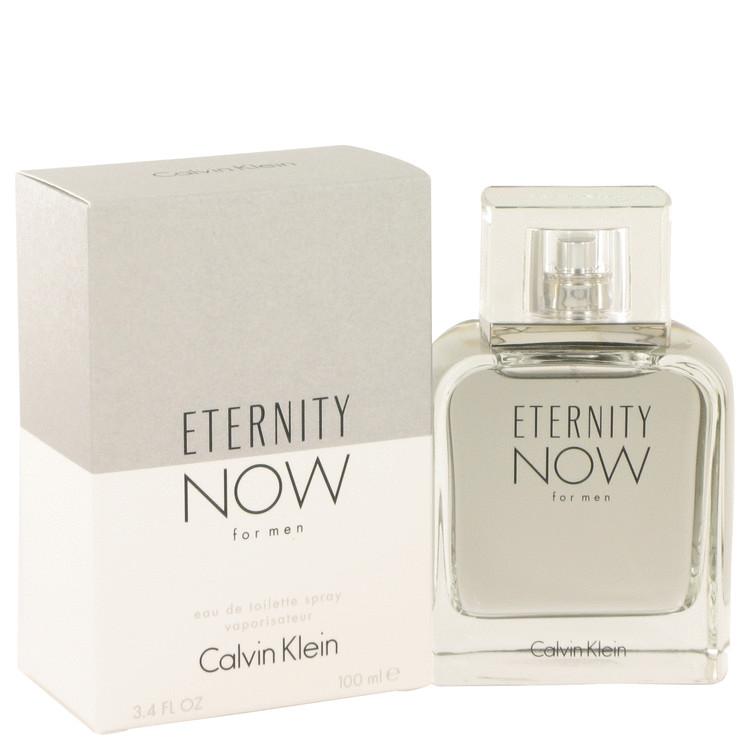 Eternity Now by Calvin Klein for Men Eau De Toilette Spray 3.4 oz