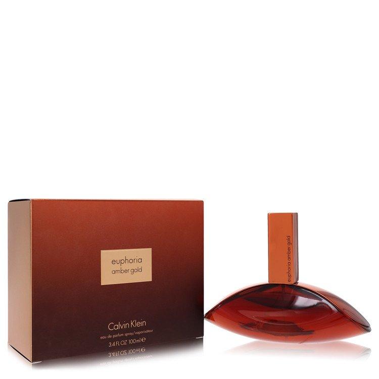 Euphoria Amber Gold by Calvin Klein –  Eau De Parfum Spray 3.4 oz 100 ml for Women