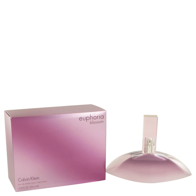 Euphoria Blossom Perfume by Calvin Klein 3.4 oz EDT Spay for Women