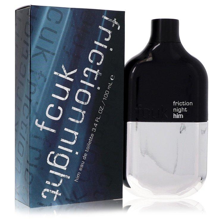 Fcuk Friction Night by French Connection Men's Eau De Toilette Spray 3.4 oz