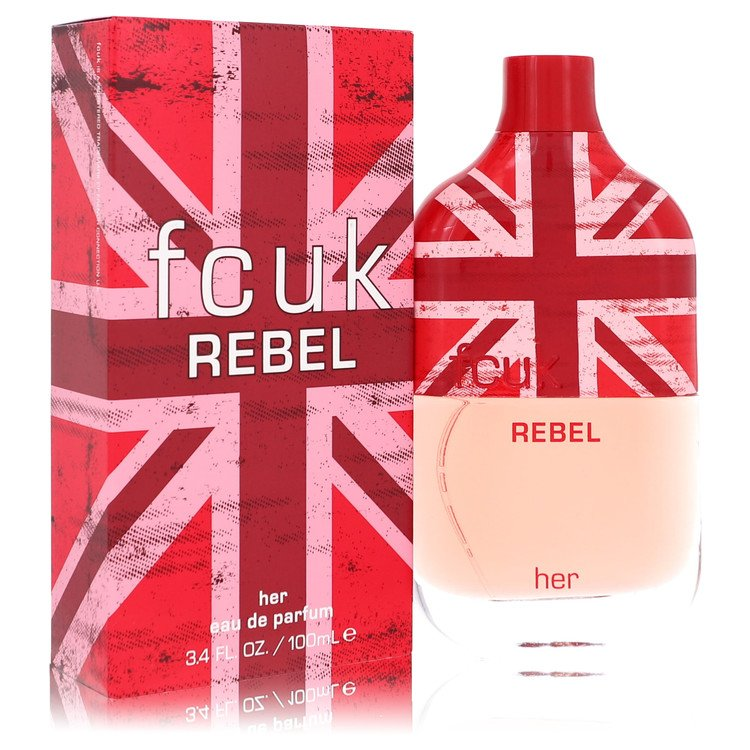 FCUK Rebel by French Connection for Women Eau De Parfum Spray 3.4 oz