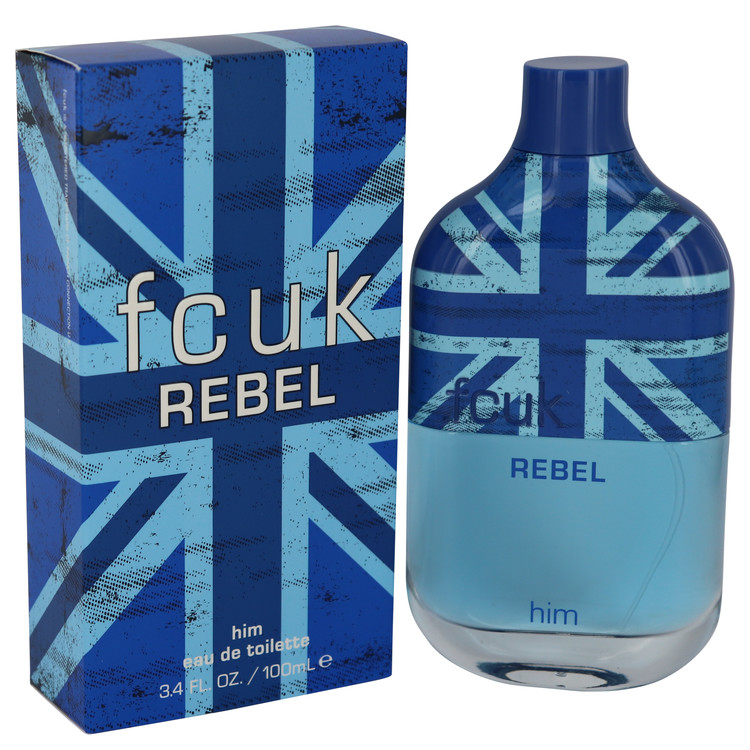 FCUK Rebel by French Connection for Men Eau De Toilette Spray 3.4 oz