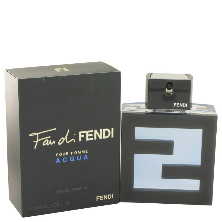 Fan Di Fendi Acqua Cologne by Fendi 3.4 oz EDT Spay for Men