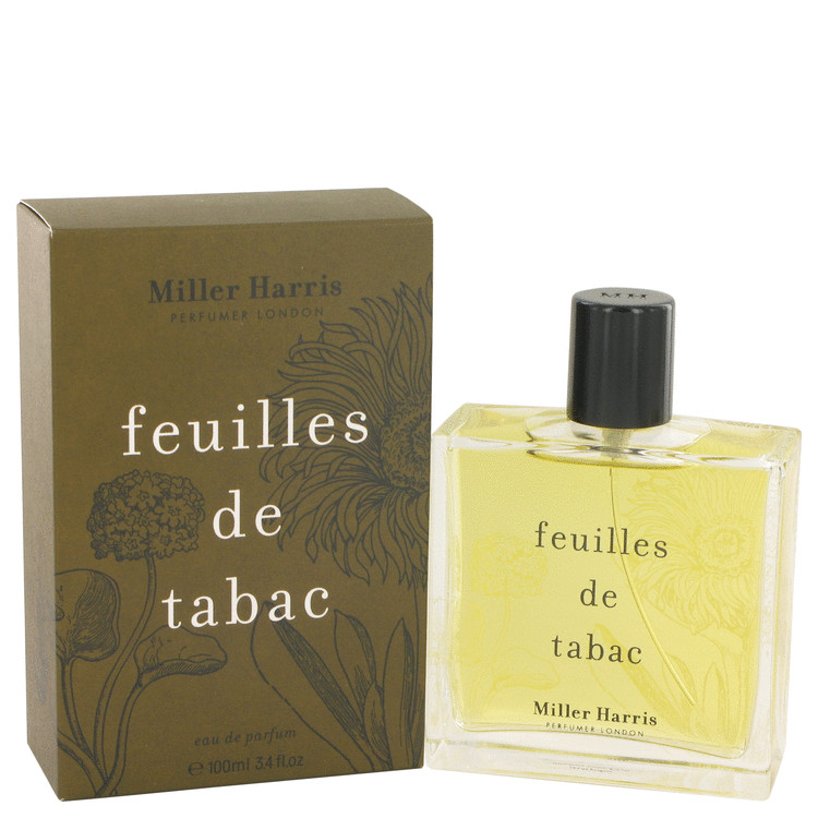 Feuilles De Tabac by Miller Harris for Women Eau De Parfum Spray 3.4 oz