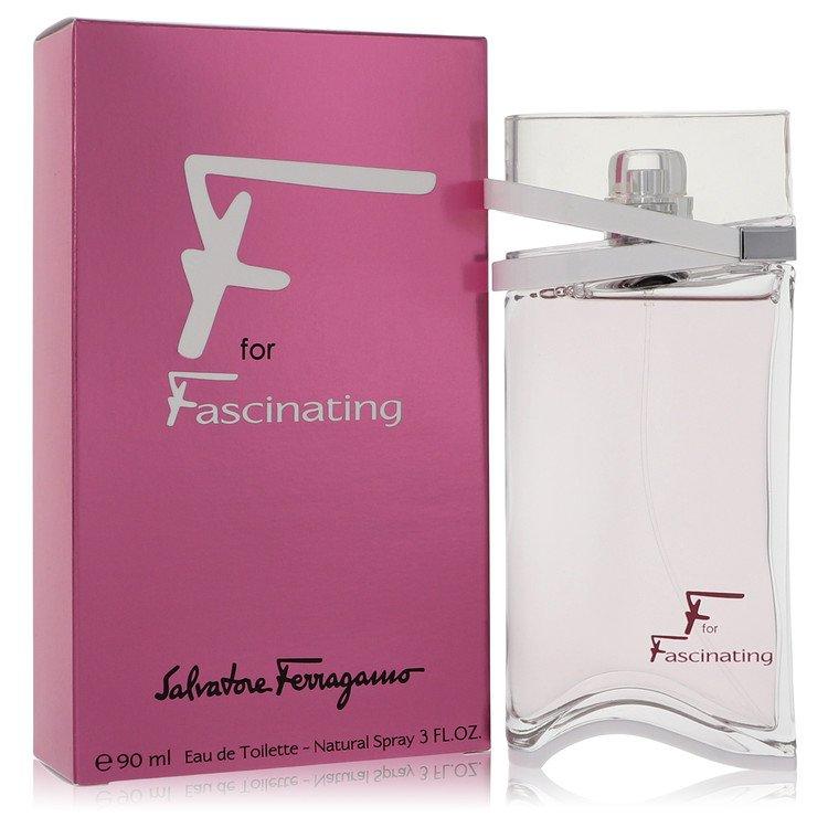 F for Fascinating by Salvatore Ferragamo for Women Eau De Toilette Spray 3 oz