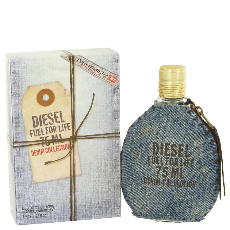 Fuel For Life Denim Cologne by Diesel 2.5 oz EDT Spay for Men