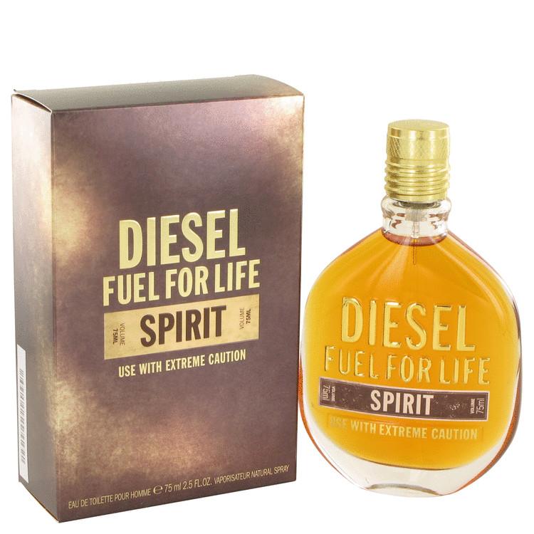 Fuel For Life Spirit Cologne by Diesel 2.5 oz EDT Spay for Men