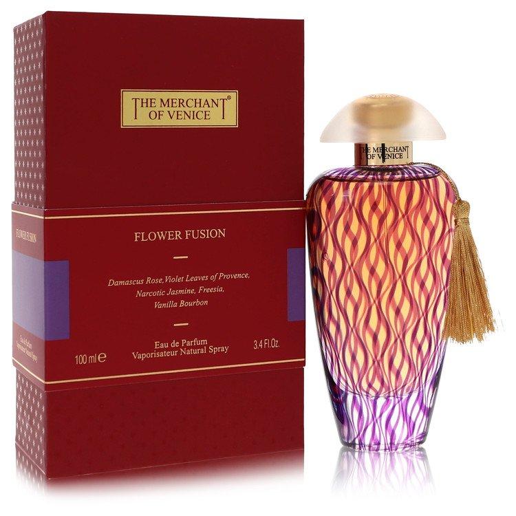 Flower Fusion by The Merchant of Venice –  Eau De Parfum Spray 3.4 oz 100 ml for Women