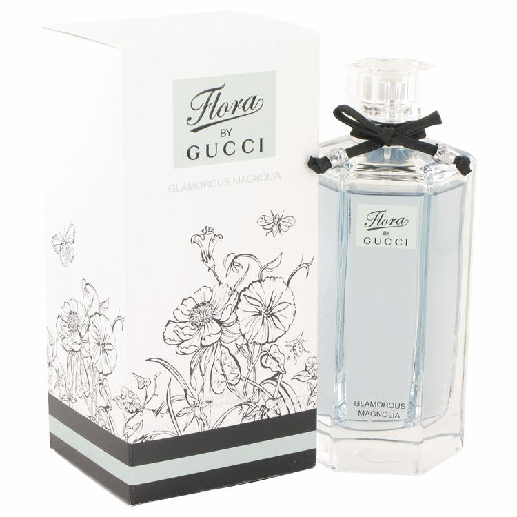 Flora Glamorous Magnolia by Gucci for Women Eau De Toilette Spray 3.3 oz