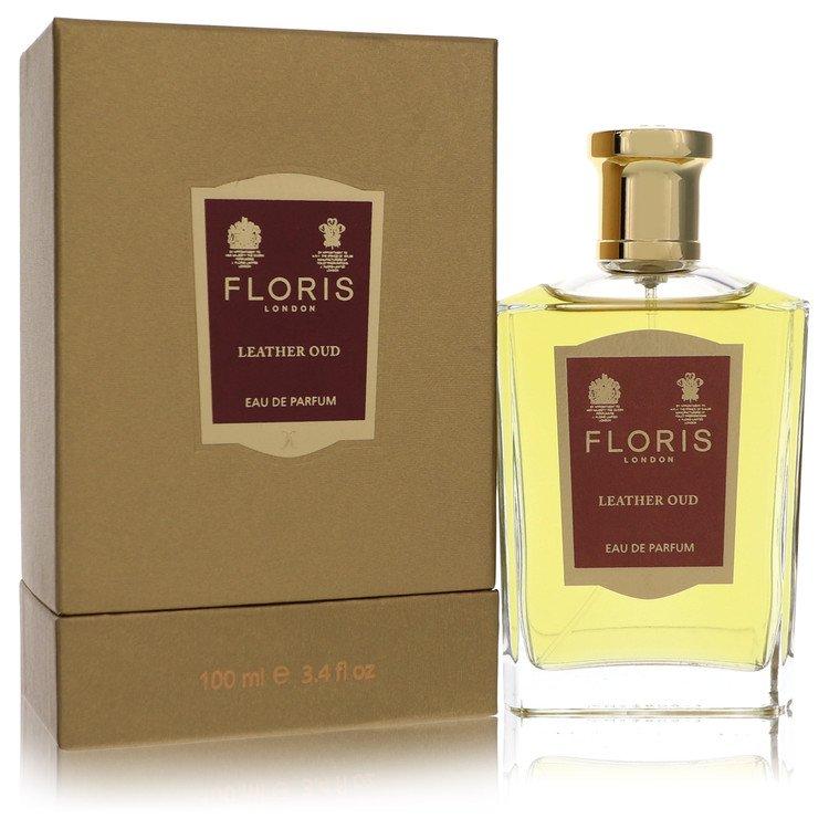 Floris Leather Oud by Floris for Women Eau De Parfum Spray 3.4 oz