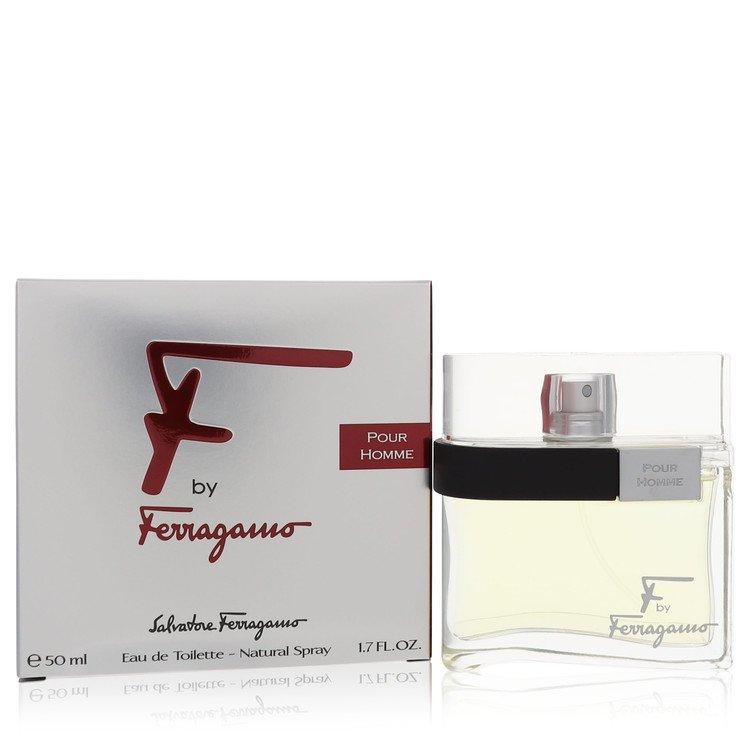 F by Salvatore Ferragamo for Men Eau De Toilette Spray 1.7 oz