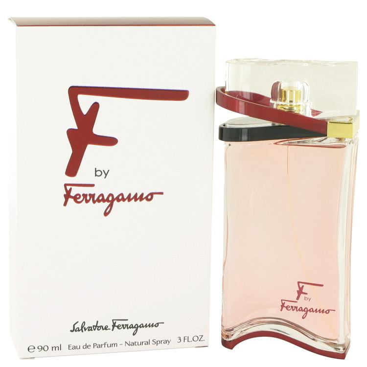 F by Salvatore Ferragamo for Women Eau De Parfum Spray 3 oz