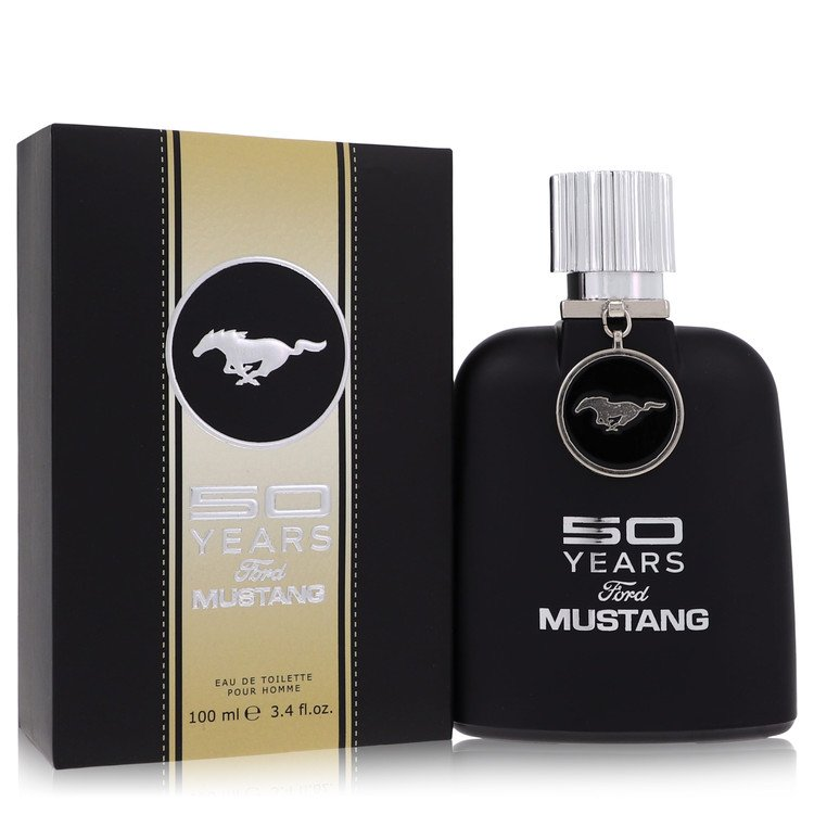 50 Years Ford Mustang by Ford Men's Eau De Toilette Spray 3.4 oz