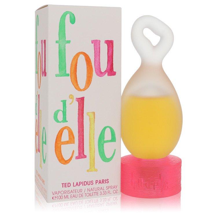 Fou D'elle by Ted Lapidus –  Eau De Toilette Spray 3.33 oz 98 ml for Women