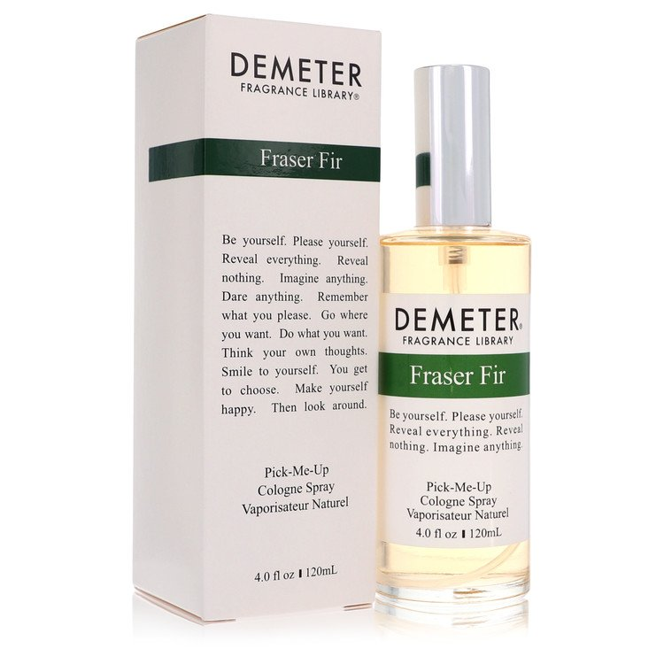 Demeter by Demeter for Women Fraser Fir Cologne Spray 4 oz