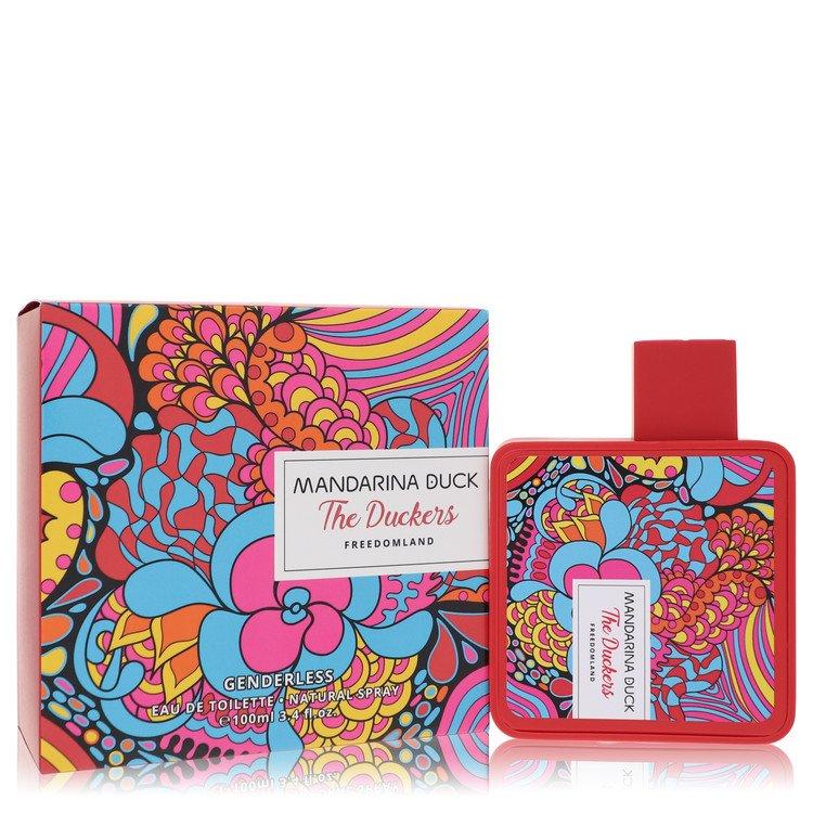 Freedomland by Mandarina Duck Eau De Toilette Spray (Unisex) 3.3 oz for Women