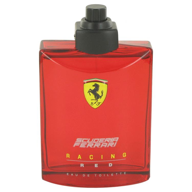 Ferrari Scuderia Racing Red by Ferrari for Men Eau De Toilette Spray (Tester) 4.2 oz