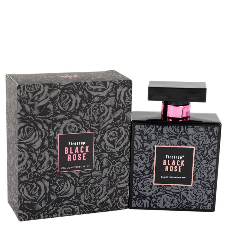 Firetrap Black Rose by Firetrap for Women Eau De Parfum Spray 3.38 oz