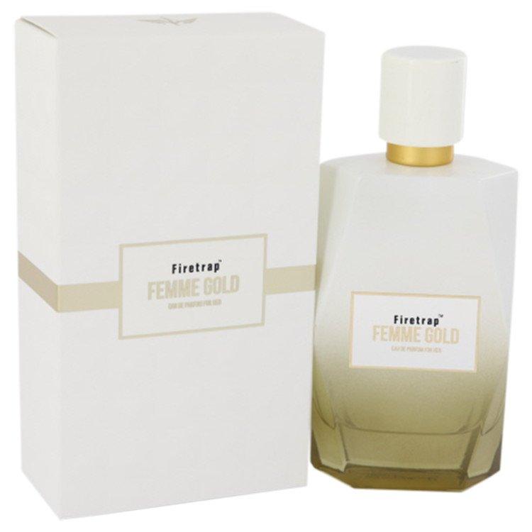 Firetrap Femme Gold by Firetrap for Women Eau De Parfum Spray 3.38 oz