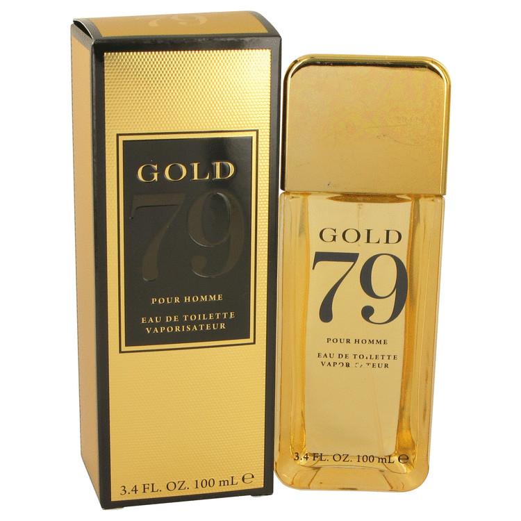 Gold 79 by YZY Perfume for Men Eau De Toilette Spray 3.4 oz